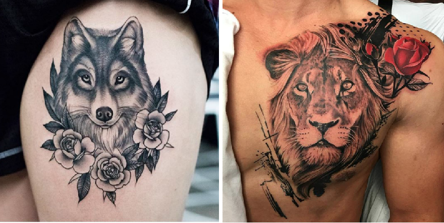 Tattoo Ideas For People Who Are Crazy About Animals