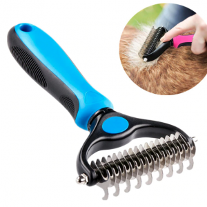 Pet pro grooming tool double sided