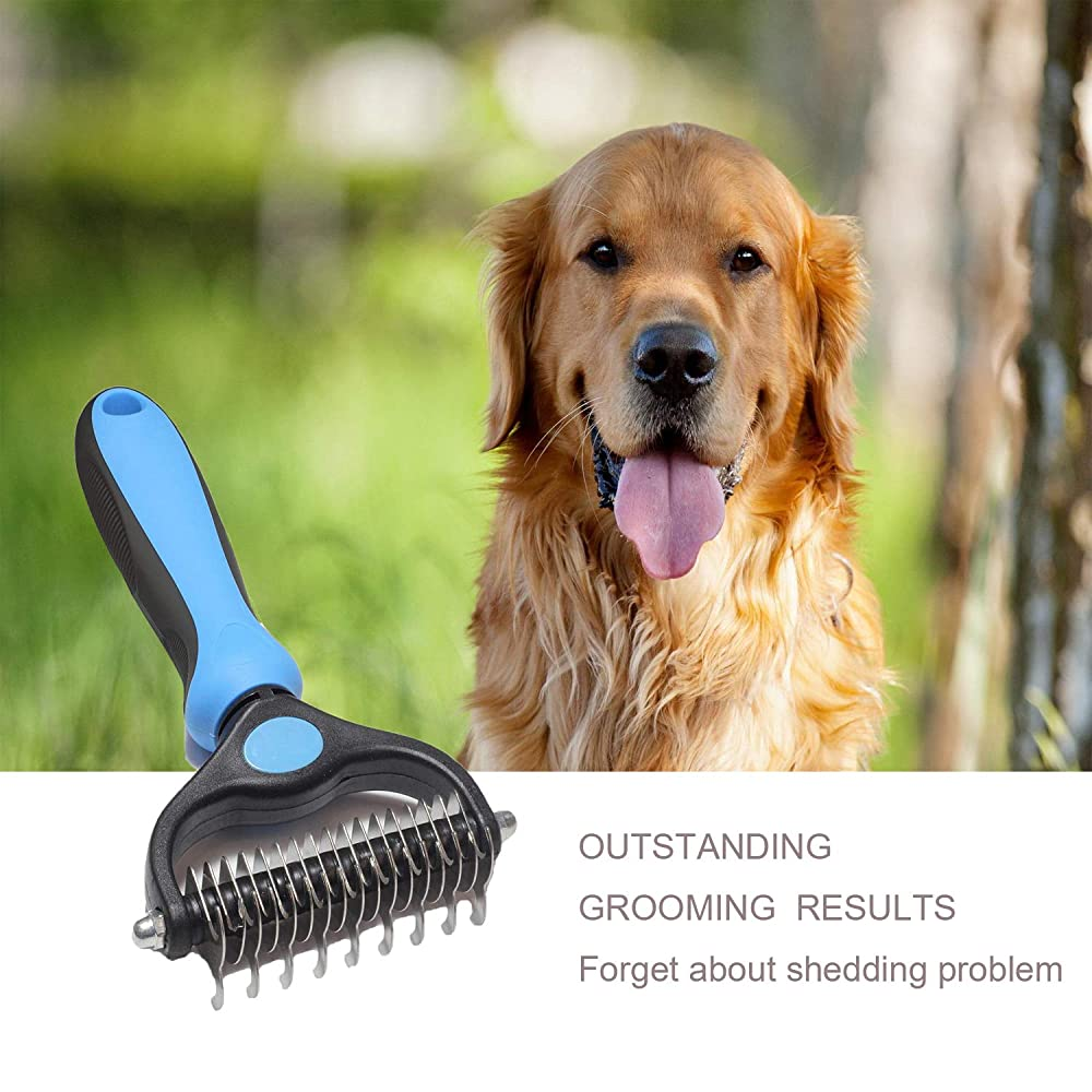 Pet Grooming Tool-Professional Dematting Comb For Dogs And Cats